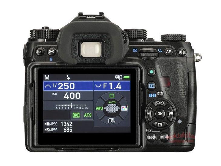Pentax K-1 II camera image