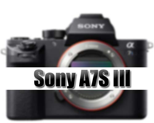 Sony A7S III Coming With New Sensor « NEW CAMERA
