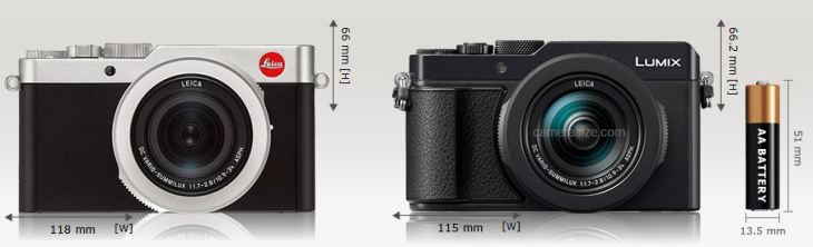 Leica D-Lux 7 vs Panasonic LX 100 II « NEW CAMERA