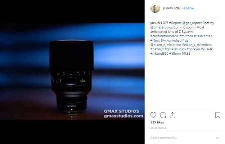 Nikon F095 lens