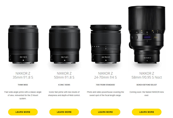 Nikon lenses « NEW CAMERA
