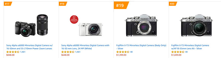 Fuji X-T30 Camera Registered, announcement in next few months