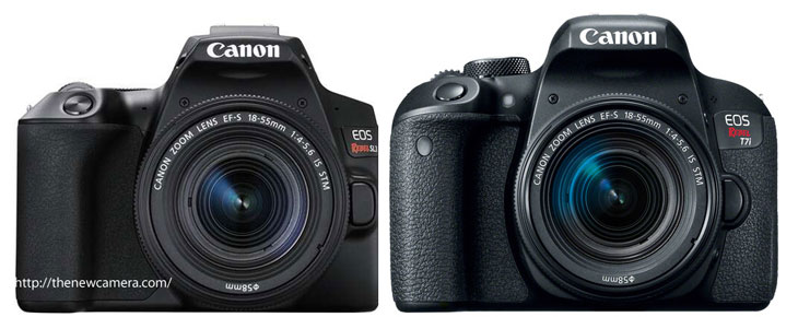 Canon 200D II / SL3 vs Canon 800D / T7i « NEW CAMERA