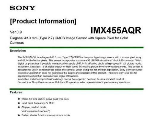 Sony A7R IV « NEW CAMERA