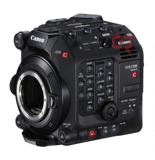 Canon Cinema EOS C500 Mark II Leaked Images and Specs « NEW