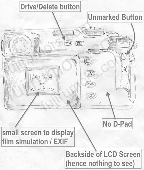 Fuji X-Pro 3 Sketches Leaked