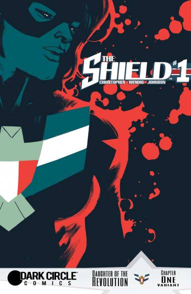 THE SHIELD #1 variant cover by Rafael Albuquerque