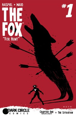 THE FOX #1 variant cover by David Mack
