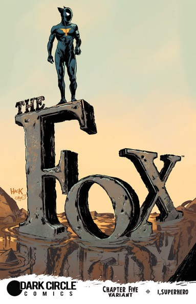 THE FOX #5 Variant Cover by Robert Hack