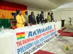 President Akufo-Addo at the townhall meeting