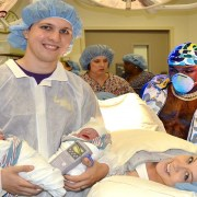 Going Baby On Baby? Nursing Student Helps Deliver Twins