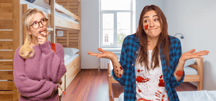 Roommate Absolutely Covered In Blood Wants To Know If You Have Tide Stick