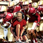 Coach Addazio Takes 11 Tries To Tie Shoes, Accidentally Kneels For National Anthem