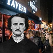 """Circle Tavern """"Edgar Allan Poe Night"""" Offers Chains, Wine, And Cement Special"""