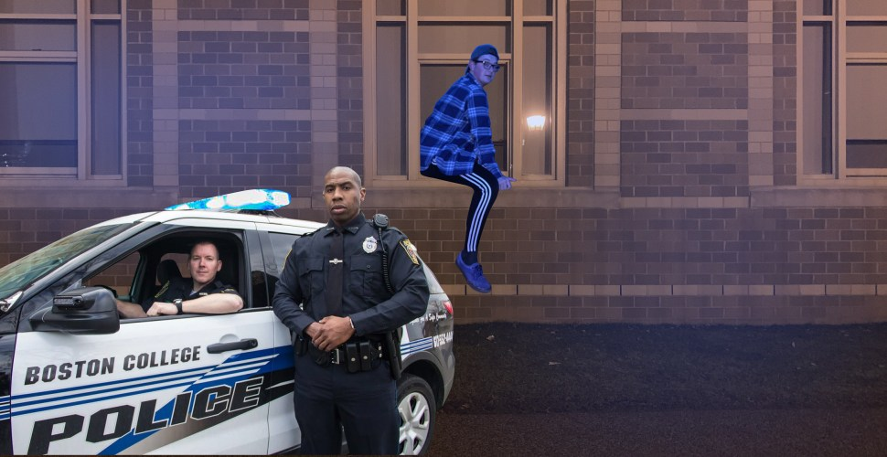 RA Candidate Found Stuck In Window After Fleeing Sophomore Party