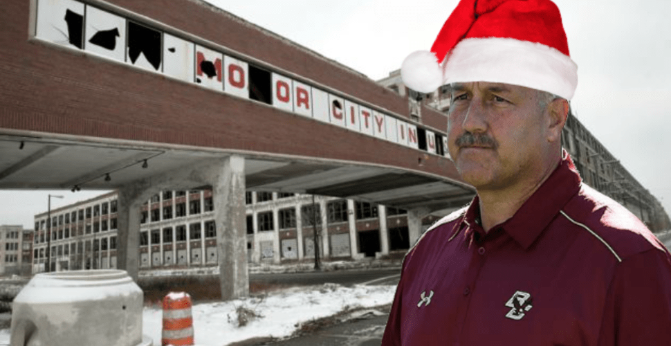Worse Than Being Fired: Addazio Family Forced To Celebrate Christmas In Detroit