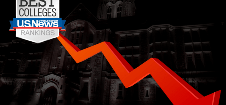 Temporary Outage in Gasson Lighting Causes BC to Plummet in College Rankings