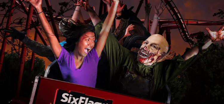 Addazio Gets Night Job As Six Flags Fright Fest Ghoul, Forgets About FSU Game