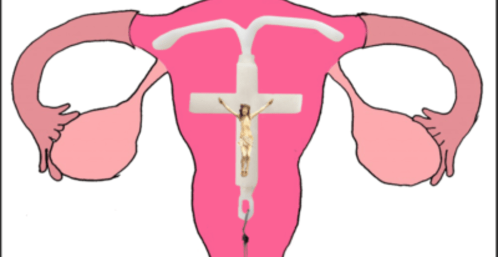 Health Services To Begin Inserting Tiny Crucifixes In Place of IUDs