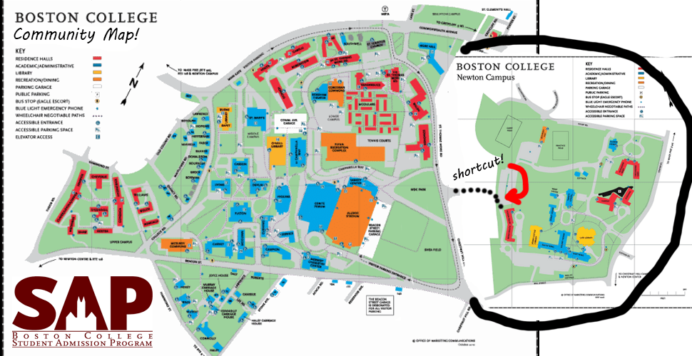 "SAP Releases Fake ""Community Map,"" Claims Newton Campus Is Part Of The BC Community"