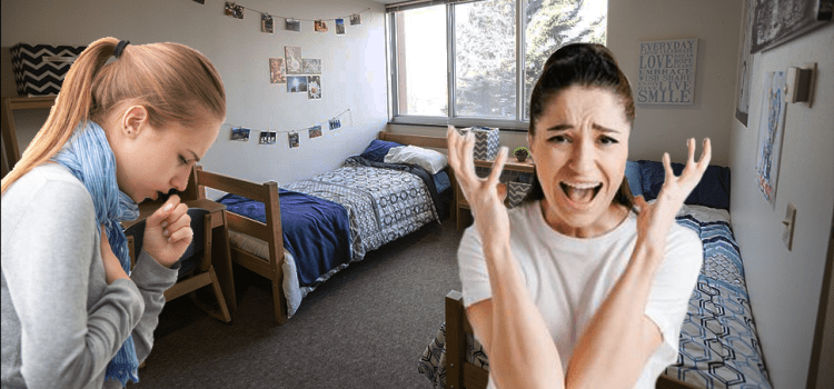 OPINION: If My Roommate Doesn't Stop Coughing I'm Going To Drop Out Of School