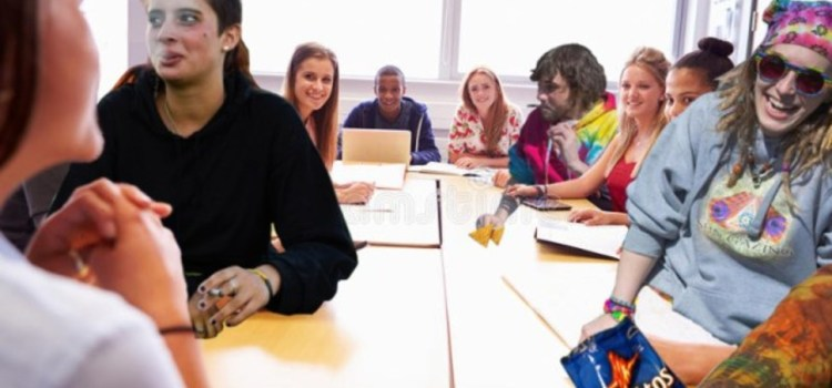 Philosophy Professor Blown Away By Students' Enhanced Participation Today