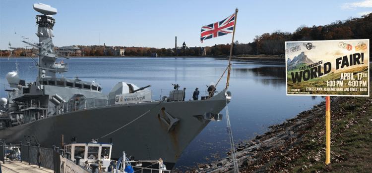 British Royal Navy Invades CAB World Fair