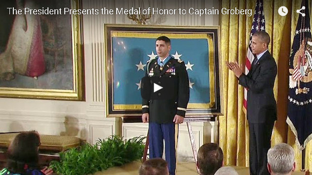 Medal of Honor Presentation to Captain Florent Groberg, United States Army