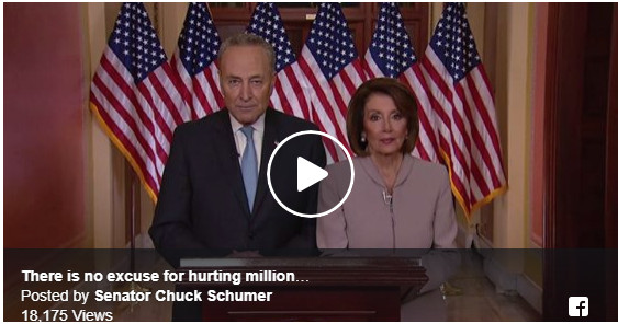 House Speaker Nancy Pelosi & Senate Minority Leader Chuck Schumer Respond to President