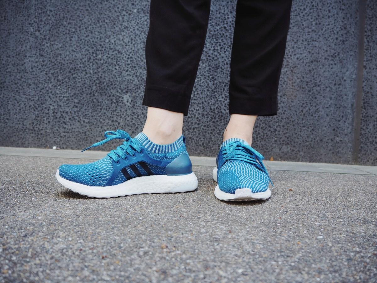 ootd: ocean plastic waste shoes