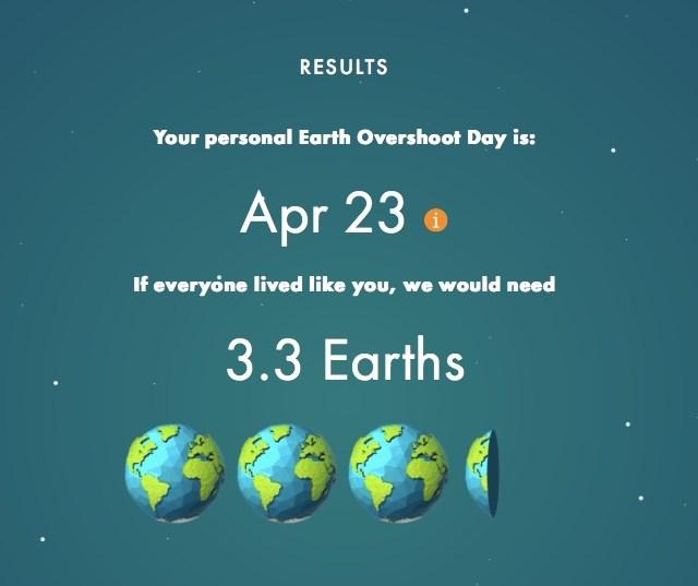 Earth Overshoot Day 2017