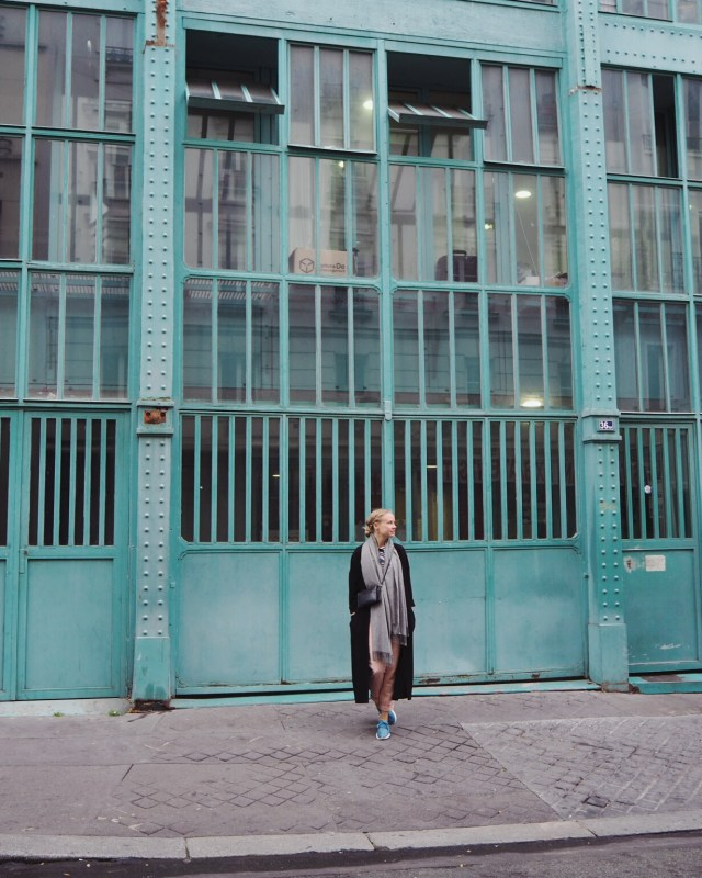 Wandering around in Paris