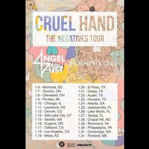 cruel hand tour poster