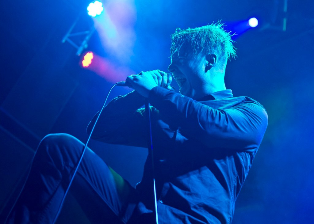 """""""Deafheaven performs at Summit Music Hall on Oct. 24, 2015. Photos by Vy Pham, heyreverb.com."""""""