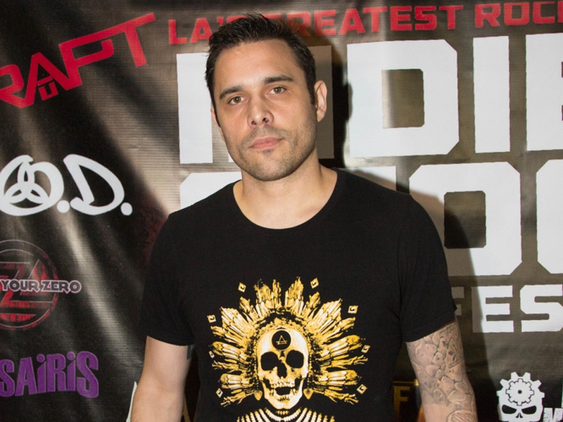 10/28/2017 - Chris Taylor Brown - Indie Stock Music Festival 2017 - Pico Rivera Sports Arena - Los Angeles, CA, USA - Keywords: singer, Trapt Band, band, band members, California, group, hard rock, independent music, Independent Stock Music Festival, indie, indiestock, music festival, musicians, people, Pico Rivera, red carpet, rock, Arts, Culture, Entertainment  Orientation: Portrait Face Count: 1 - False - Photo Credit: Sheri Determan  / PRPhotos.com - Contact (1-866-551-7827) - Portrait Face Count: 1