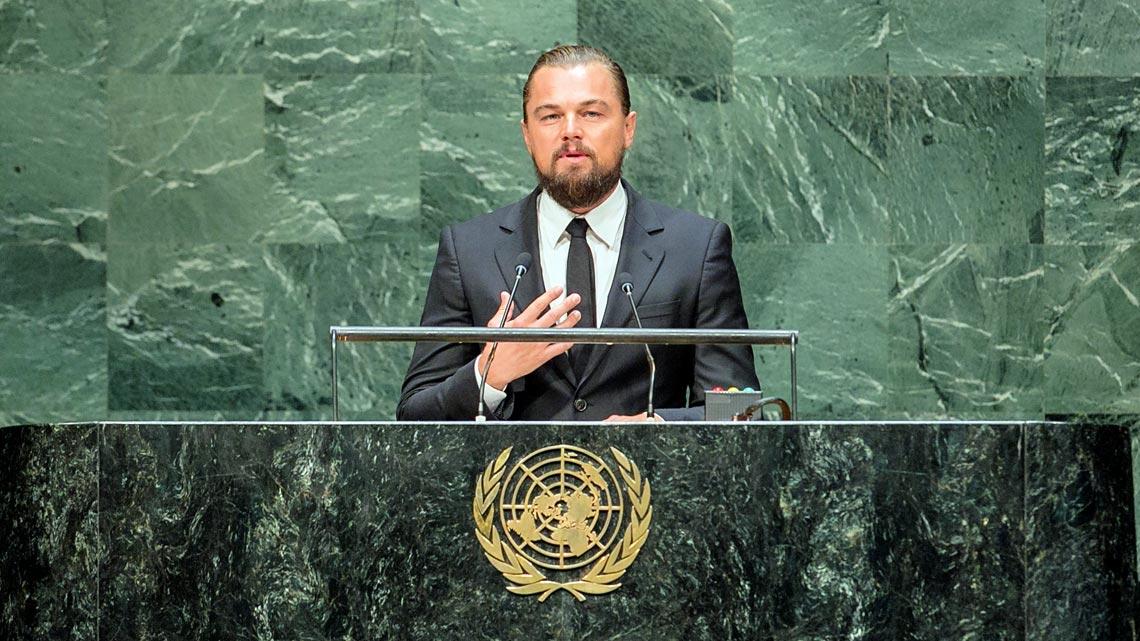 Celebrity Politica: Leonardo Dicaprio