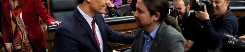 ESPAÑA: El Primer Gobierno de Coalición de la Democracia Moderna Española