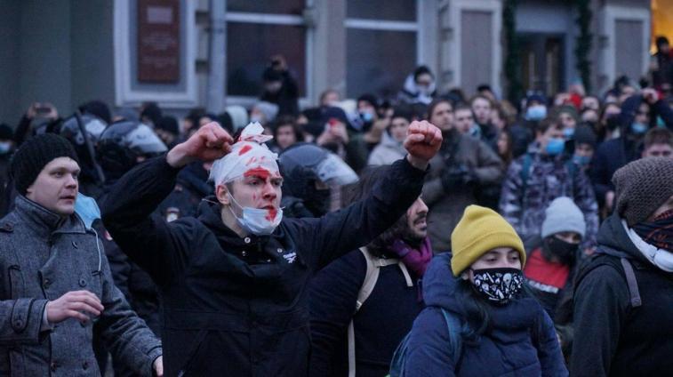 Russia Protest: Anti-Corruption, Pro-Navalny, and Violent