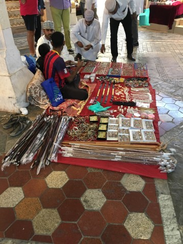 Some of the many Oman crafts.