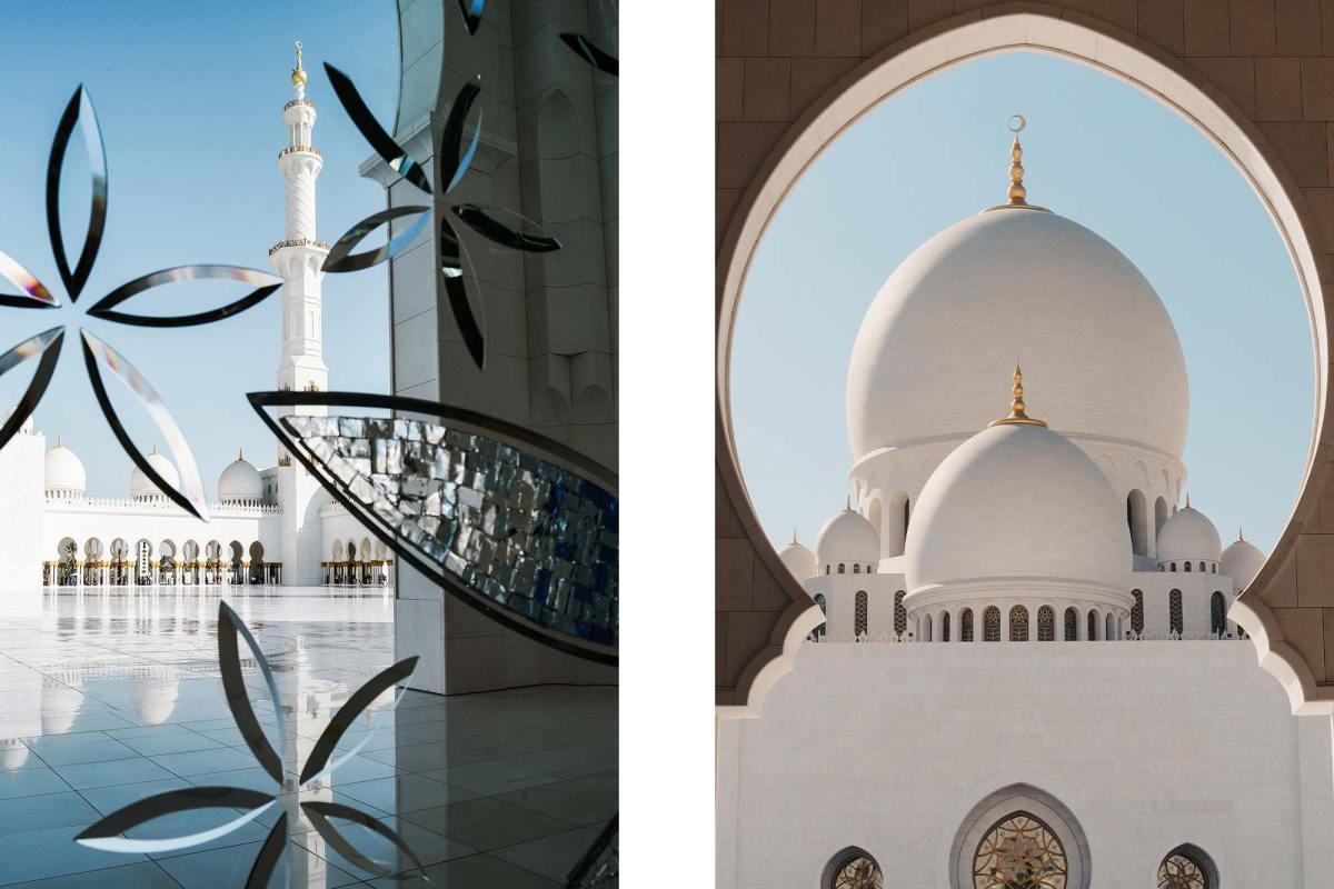Sheikh Zayed Mosque Abu Dhabi bezoeken