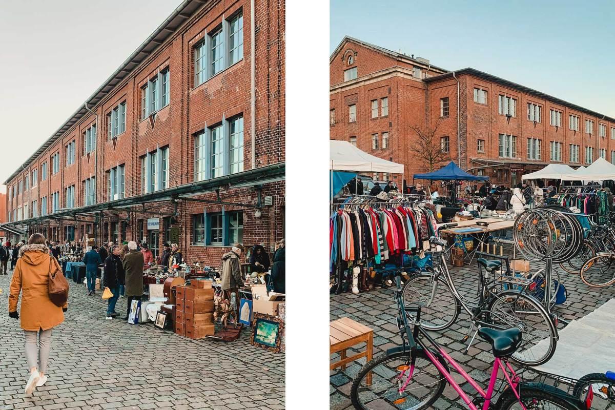 Antik und Flohmarkt Flohschanze Hamburg