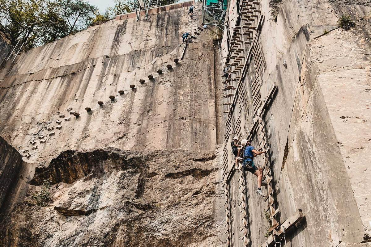 Avontuurlijk klimmen in Durbuy