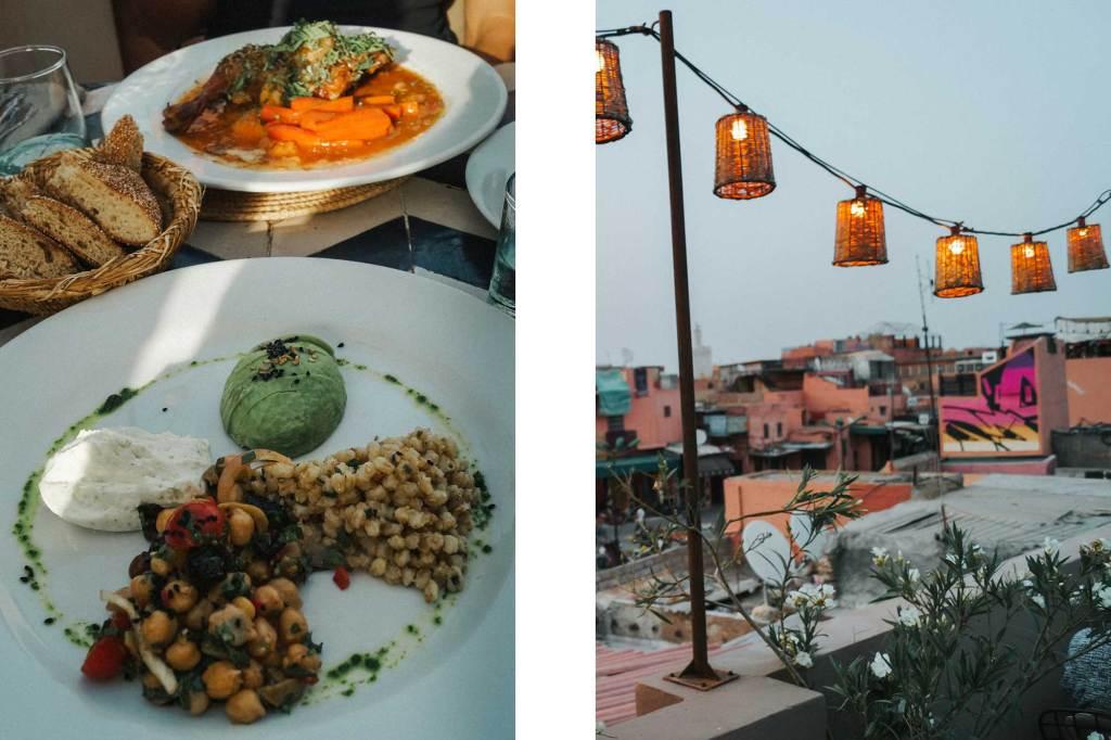 Leuke cafés en restaurants in Marrakesh
