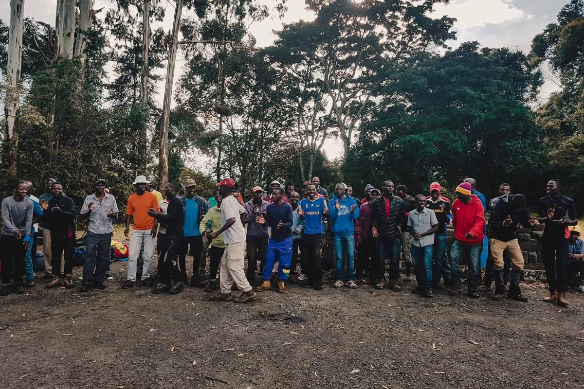 Dragers Kilimanjaro ervaring