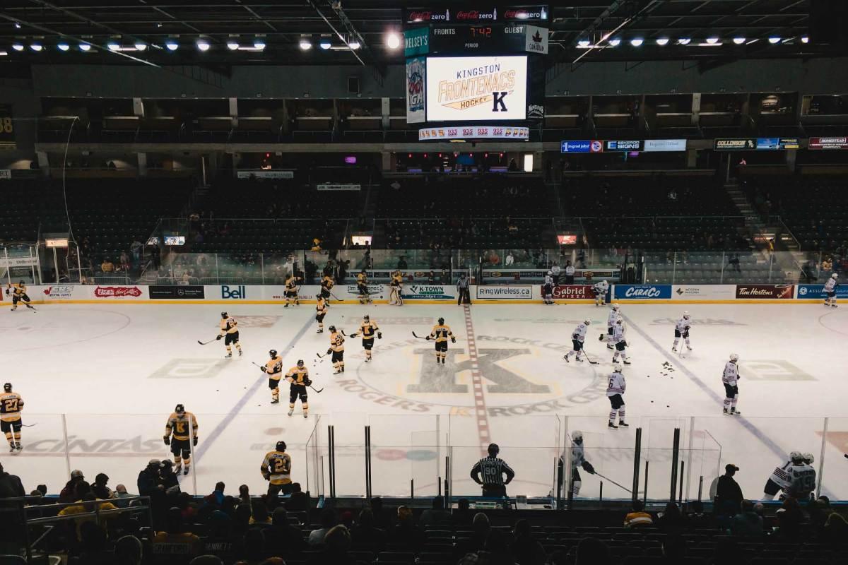 IJshockey wedstrijd Canada bezoeken