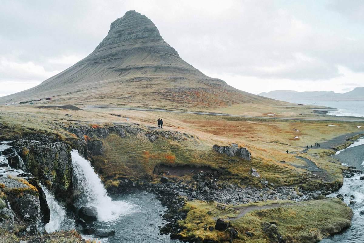 Kirkjufell & Kirkjufellsfoss waterval