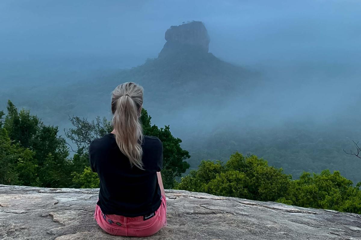 Lion Rock en de Pidurangala Rock