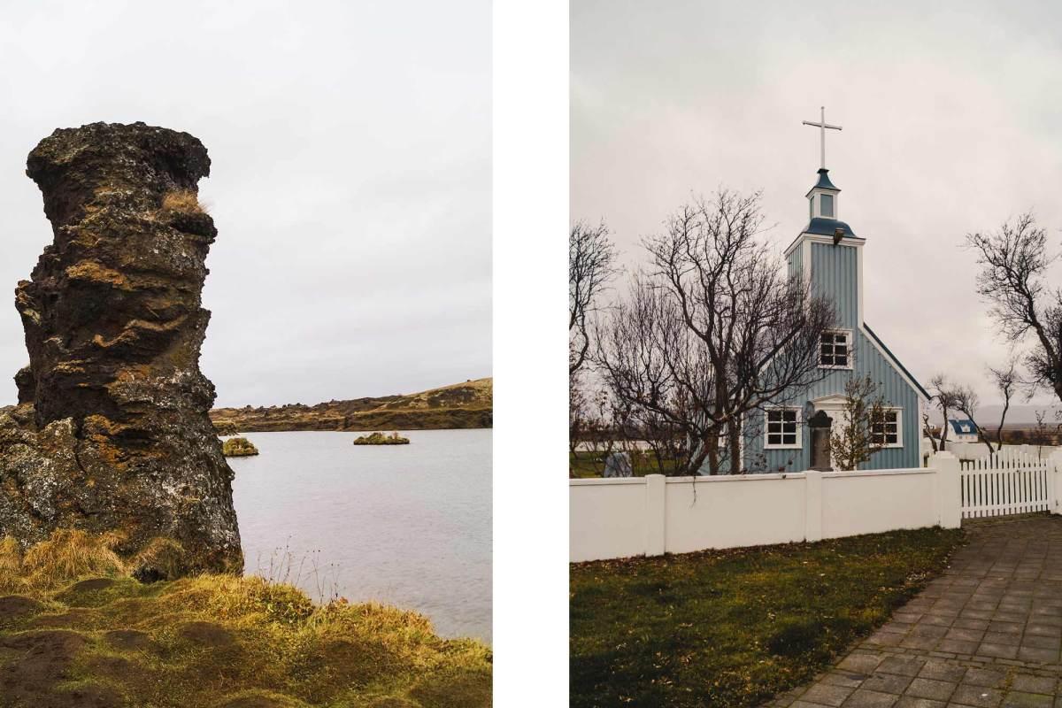 Noord IJsland Myvatn