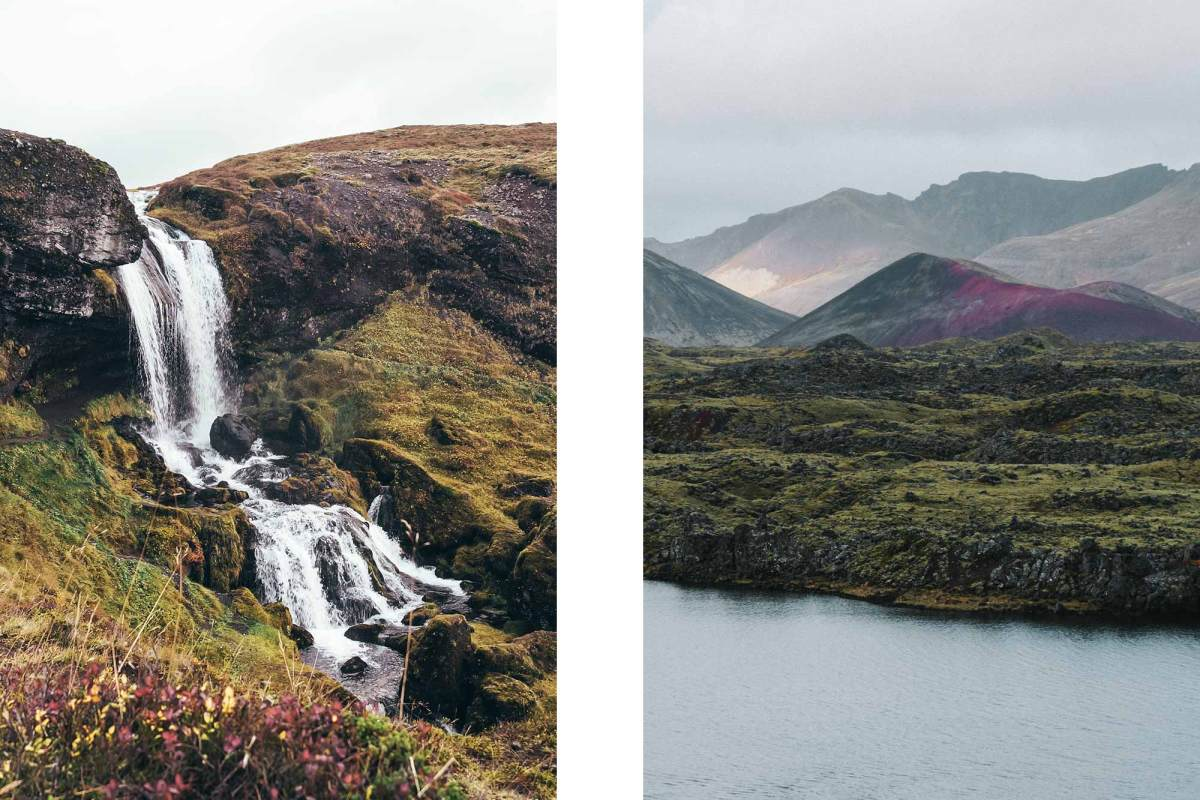 Selvallavatn & Sheep's waterval