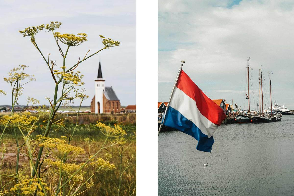 Fietstocht langs de dorpen van Texel